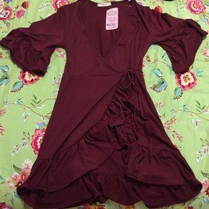 NWT Entro wrap dress